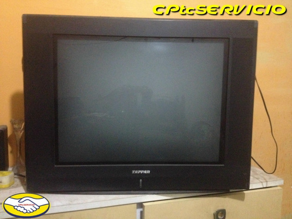 Tv Tappan Tps-29601 Convencional Pantalla Negra Plana Color