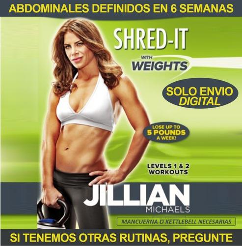 Jillian Michaels Marcate Con Pesas Fitness Ejercicios En Ksa