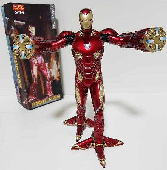 Ironman Mark L 50 Crazy Toys (ñ Hot Toys) 30cm, Escala 1/6