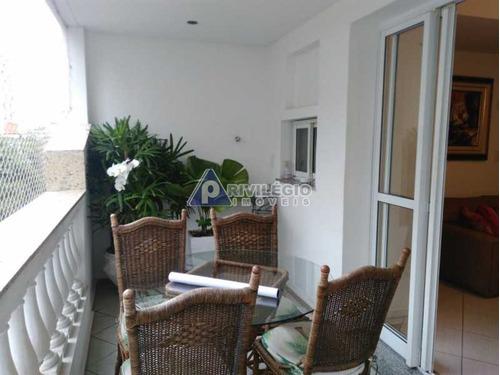 Apartamento À Venda, 3 Quartos, 1 Suíte, 1 Vaga, Humaitá - Rio De Janeiro/rj - 10608