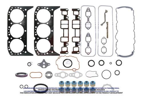 Imagen 1 de 1 de Juego De Empacaduras Chevrolet 262 Vortec