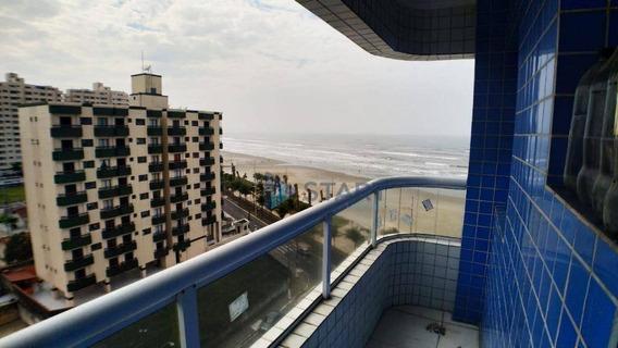 Apartamento Com 2 Dormitórios Prédio Frente Ao Mar À Venda, 62 M² Por R$ 320.000 - Balneário Maracanã -praia Grande - Ap6900