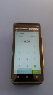 Maquininha De Cartão - Moderninha Smart