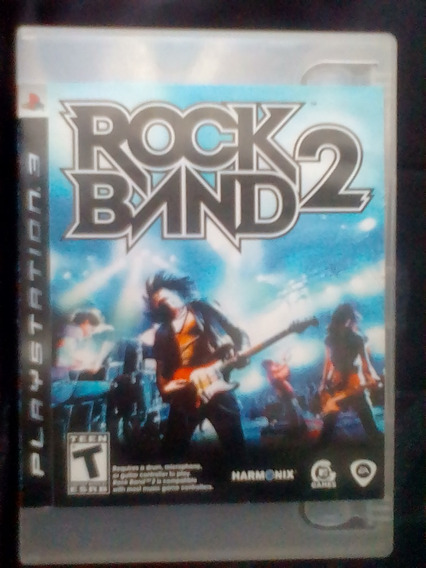 Rock Band 2 Ps3 - 100% Original - Americano