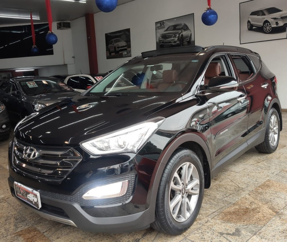 Hyundai Santa Fe 3.3 7l Teto+multimídia+banco Terracota+teto