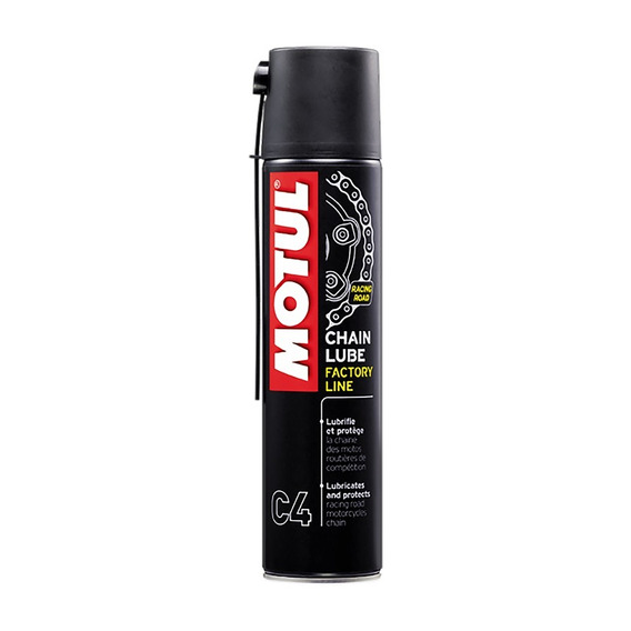 Motul C4 400ml Spray Lubrificante Corrente Moto Chain Lube