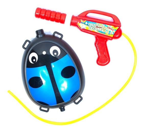 Pistola De Agua Con Tanque Mochila Para Niños N65