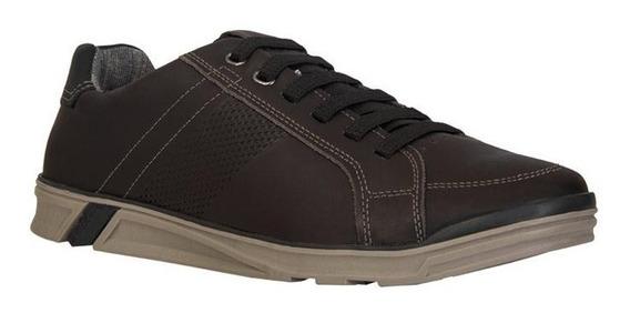 Zapatos Casuales Para Hombre Cafe 24 Walks / 116605-07