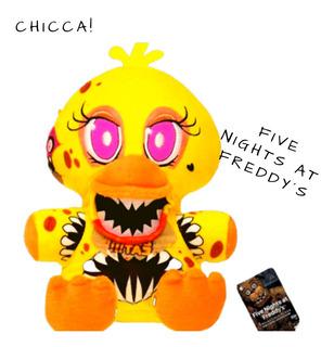 Peluche Five Nights At Freddy´s Chicca Funko Muñeco Fnaf