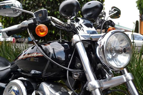 Harley Sportster Custom 883 Impecable Para Exigentes