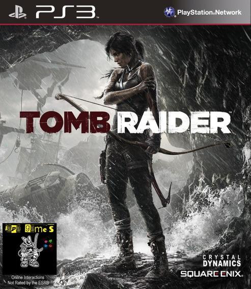 Tomb Raider 2013 Jogos Ps3 Psn Legendado Pt Br