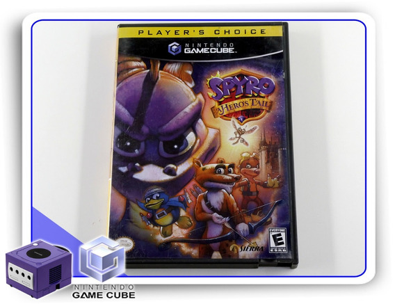 Spyro A Heroes Tail Nintendo Gamecube Original