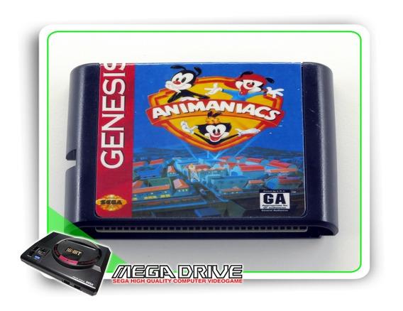 Animaniacs Sega Mega Drive / Genesis - Novo