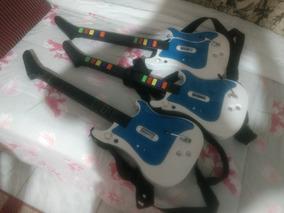 Guitarra Nintendo Wii , Bateria Wii E Teclado