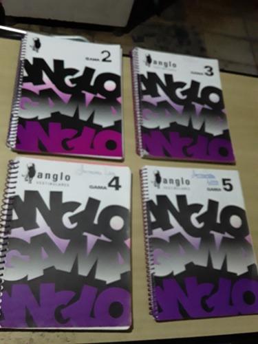 Anglo Vestibulares Gama - Volumes: 2,3,4,5 - 04 Volumes