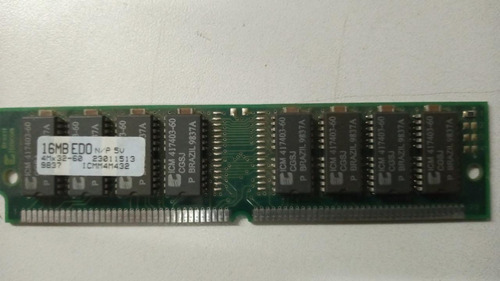 Imagem 1 de 2 de Memória Simm Edo 16mb Itaucom Original Icm Brazil