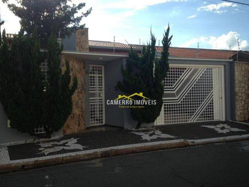 Casa Com 3 Dormitórios À Venda, 190 M² Por R$ 795.000,00 - Jardim Ipiranga - Americana/sp - Ca2266