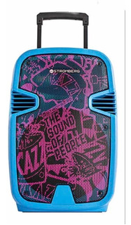 Parlante Portátil Jiggy Bluetooth Carrito 60 Watts
