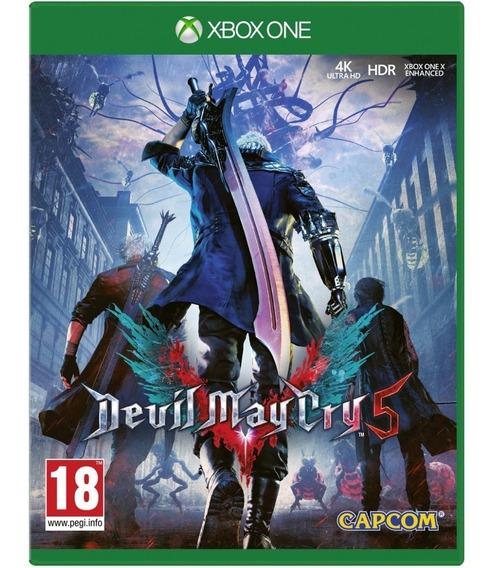 Game Devil May Cry 5 Dmc Dmc5 Xbox One Disco Fisico Cd Original Lacrado Português Br