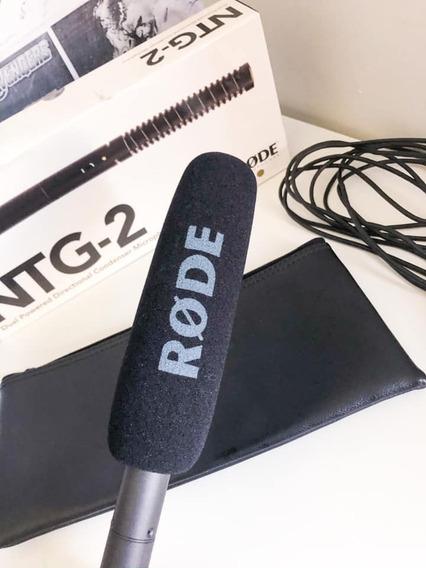 Microfone Profissional Rode Ntg 2