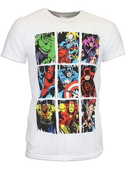 Envio Gratis Playera Comic Avengers Marvel Todas Las Tallas
