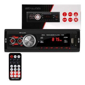 Mp3 Player Automotivo Montana Shutt Fm 1 Din Controle Remoto