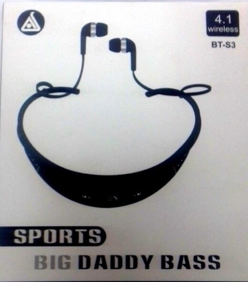 Audífonos Inalámbricos Deportivos Big Daddy Bass Bt-s3 4.1