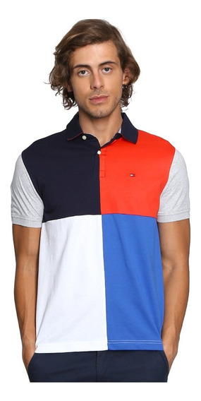 Playera Polo Tommy Hilfiger Hombre Multicolor 100% Original
