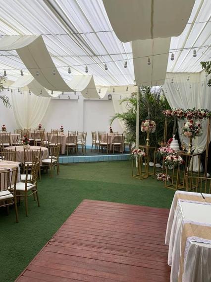 Alquiler Local Con Jardin-san Miguel Para Fiestas Y Eventos