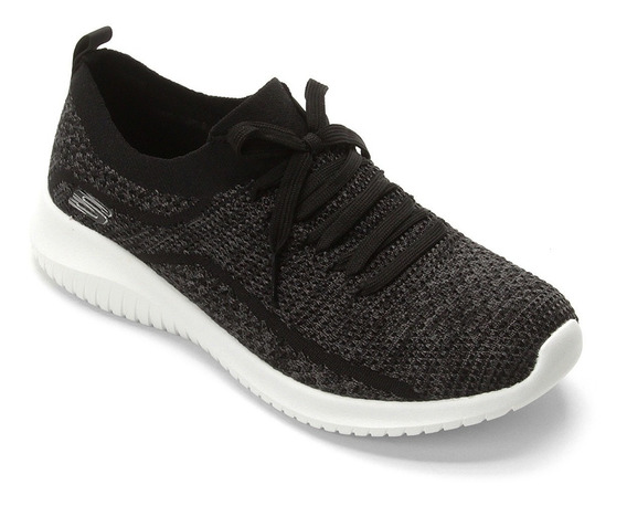 Tênis Skechers Ultra Flex-statements Feminino - Preto