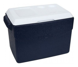 Caixa Térmica 48 Litros Mor Glacial Azul