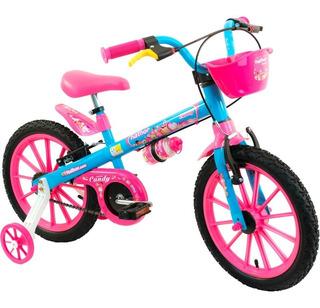Bicicleta Infantil Nathor Aro 16 - Candy