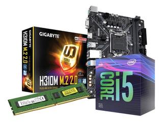 Combo De Actualizacion Intel I5 + Mother + Memo 8gb Ult Gen