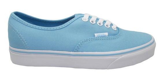 Tenis Vans Authentic Vn-0a38emmqw Crystal Blue True White