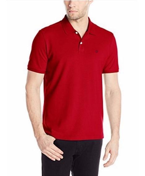 Camiseta Polo Victorinox De Manga Corta Roja Original