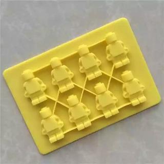 Molde De Silicon Lego
