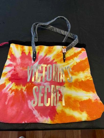 Bolso Playero Multicolor Victoria Secret