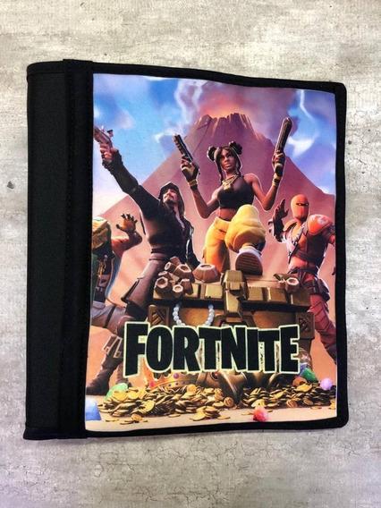 Carpeta Con Funda Numero 3 Gamer Fortnite