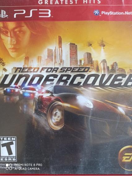 Need For Speed Undercover Ps3 Mídia Física, A Pronta Entrega