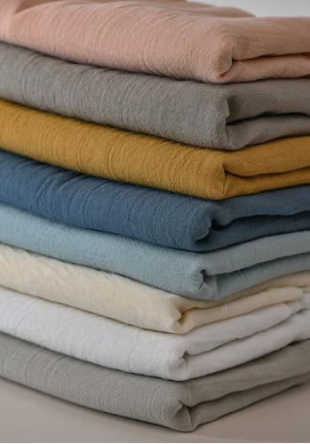 LC WAIKIKI muselina, algod/ón, 100 x 120 cm, 100/% algod/ón color azul Manta para beb/é