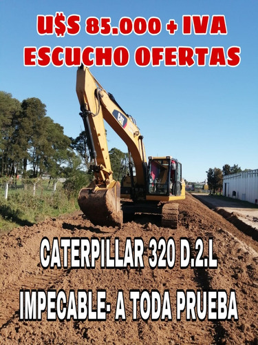 Excavadora Caterpillar 320 D.2.l