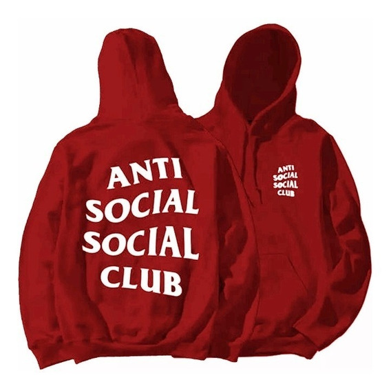 Blusa De Frio Casaco Moletom Anti Social Social Club