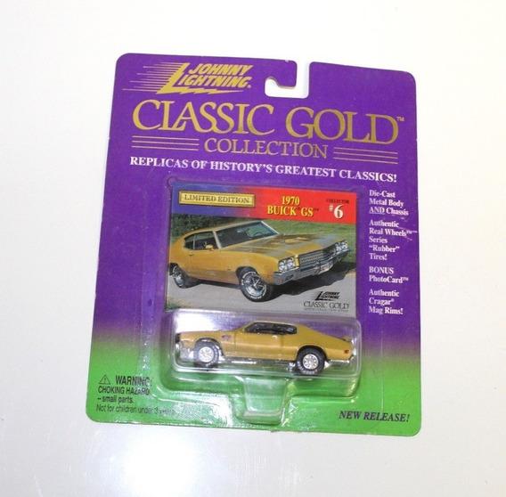 1970 Buick Gs Johnny Lightning Ruedas De Goma Solo Envios