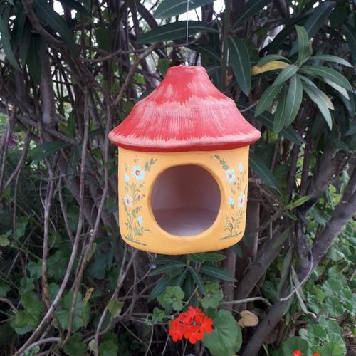 Casitas Para Pájaros Y San Antonio Para Colgar En Cerámica