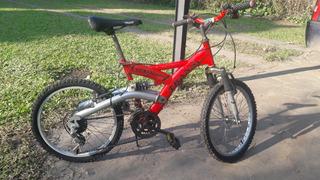 Bicicleta Cross R20, Doble Amortig, 12 Cambios, Shimano