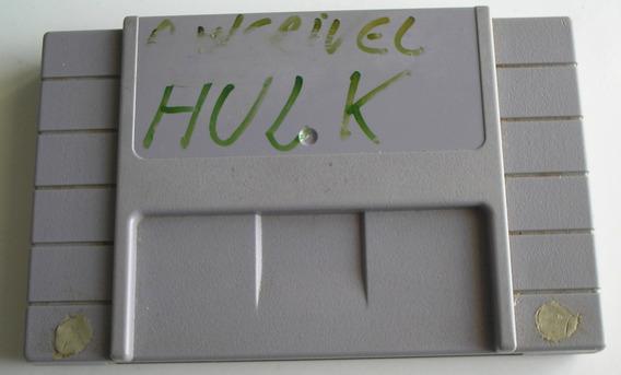 The Incredible Hulk Super Nintendo Paralela Usada