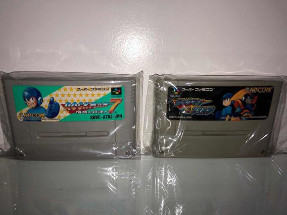 Mega Man E Forte Megaman 7 Japonês