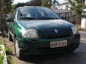 Renault Clio 1.0 Rn Ano 2000. Revisado! Abaixo Da Tabela!