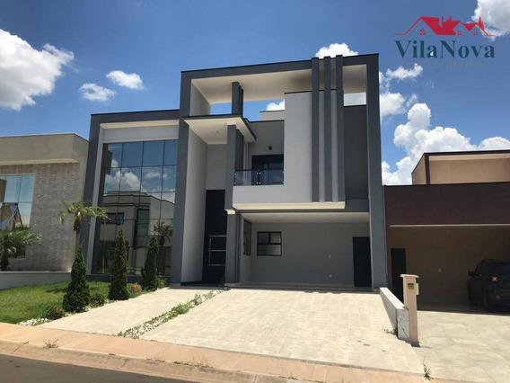 Sobrado Com 4 Dormitórios À Venda, 230 M² Por R$ 1.400.000 - Jardim Residencial Dona Lucilla - Indaiatuba/sp - So0026