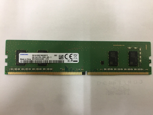 Imagem 1 de 3 de Memória Samsung Ddr4 - 4gb - M378a5244cb0-ctd - 2666mhz
